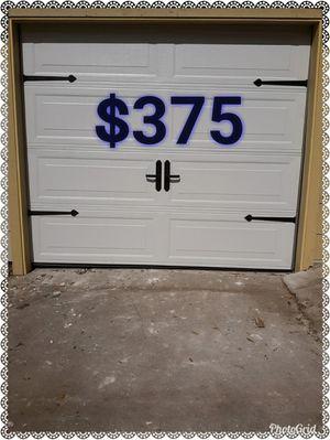1CAR GARAGE DOOR LONG PANEL for Sale in Cypress, TX