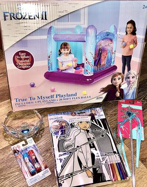 Princess/ Frozen- Playland ball set brand new with free poster to color, And a couple other items for Sale in Hudson, FL