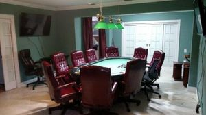 Poker table with chairs for Sale in North Miami Beach, FL