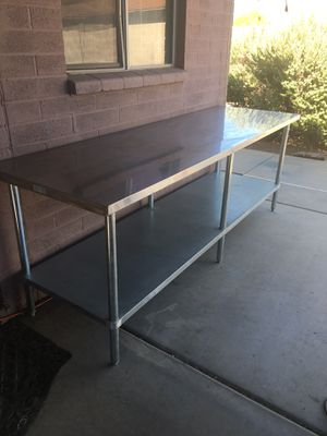 Stainless steel table for Sale in Phoenix, AZ