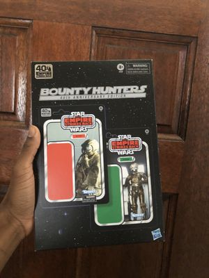 Star Wars The Black Series 4-LOM and Zuckuss Toys 6-Inch-Scale The Empire Strikes Back Collectible Figures 2-Pack (Amazon Exclusive) for Sale in Houston, TX