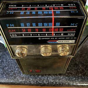 1970 katone vintage portable radio for Sale in Des Plaines, IL