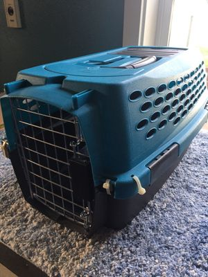 Small pet cage/kennel for cat or small dog measurements are in the pictures for Sale in Everett, WA