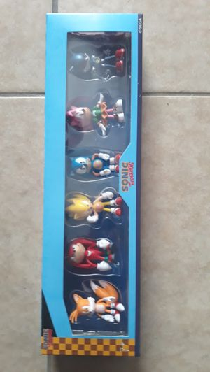 Sonic 6 piece figures for Sale in Maywood, CA