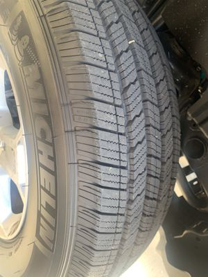 Brand new michelin tires! (Wheels and tires) for Sale in Milpitas, CA