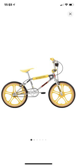 Stranger Things Mongoose Bmx Bike Old School Retro Mad Max for Sale in Rockville, MD