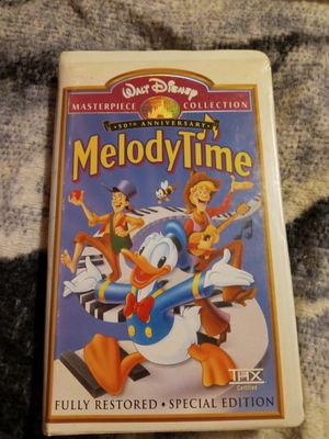 Melody time VHS for Sale in Wayne, MI