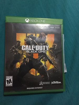 Black Ops 4 for XboxOne for Sale in Dickinson, ND