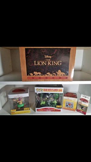 Brand new lion king pop figure set. Cute gifts or collectibles for Disney lovers for Sale in Las Vegas, NV