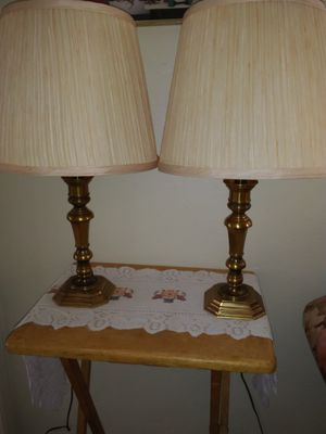Pair of lamps. 3 way. for Sale in San Diego, CA