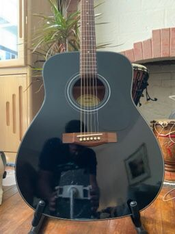 Acoustic Guitar- Custom Yamaha with Gigbag for Sale in Pittsburgh, PA