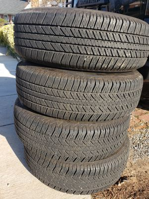 A set of tires 265 70 17 almost New for Sale in NEW CARROLLTN, MD