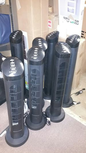 40in tower oscillating fan 13ea for Sale in Bakersfield, CA