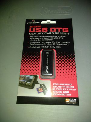 Micro USB Card Reader for Sale in Corpus Christi, TX