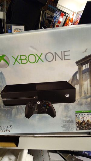Xbox one elite console and cords only with games download for Sale in Fort Lauderdale, FL
