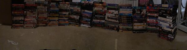 Old VHS collection for Sale!! (200 oldies but goodies!!)