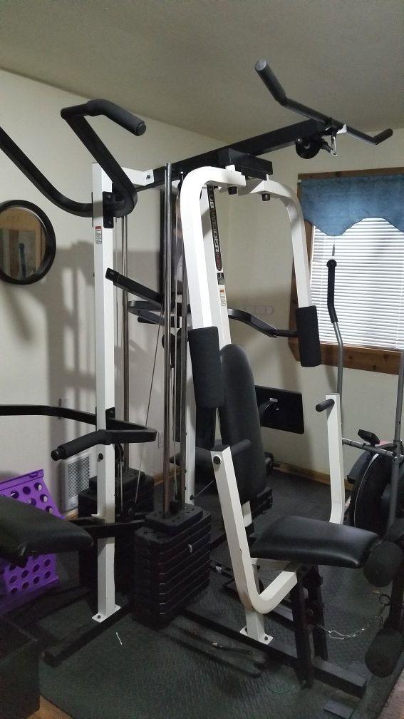 Home Gym- Weider 16.6ST