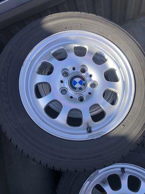 BMW rims 195/65R15 for Sale in Berkeley, CA