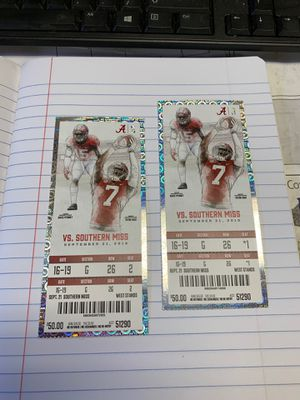 Alabama tickets for Sale in McCalla, AL