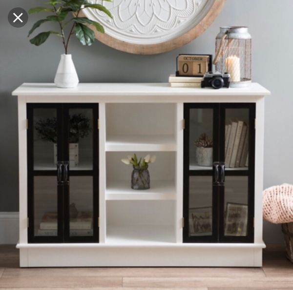 Accent cabinet tv stand dresser