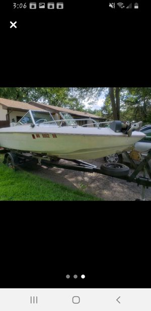 Imperial speed boat 115hp outboard for Sale in Saint Paul, MN