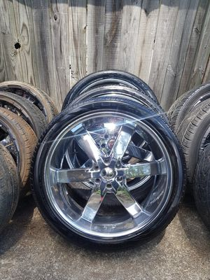 24in U2s 6lug rims and (4) chunky tires 305/35/24s $$1350 for Sale in Marietta, GA