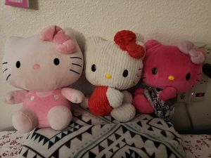 Hello Kitty plush dolls for Sale in East Compton, CA