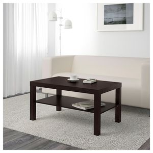 IKEA Coffee Table - Black/Brown for Sale in Tampa, FL