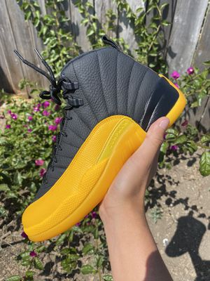 Air Jordan 12 University Gold Size 5y In Hand Brand New (2 Pairs) for Sale in Alameda, CA