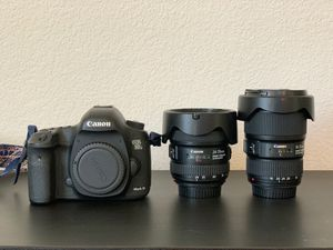 Canon 5dIII w 16-35 f4 & 24-70 f4 for Sale in Fremont, CA