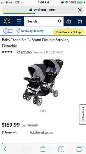 Double stroller for Sale in Sebring, FL