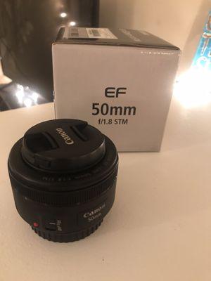 Canon Lens 50mm f/1.8 for Sale in Santa Susana, CA