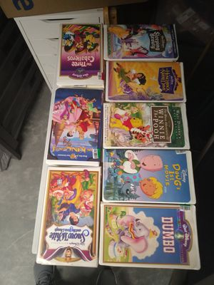 Disney vintage vhs movies for Sale in North Las Vegas, NV