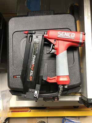 Senco FinishPro 21LXP 21GA Nailer & PC1010 Finish Compressor for Sale in Seattle, WA