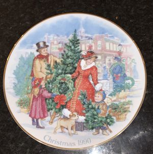 """Avon """"Bringing Christmas Home"""" 1990 Christmas Plate for Sale in Harvey, IL"""