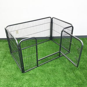 """Brand New $75 Heavy Duty 49""""x32""""x28"""" Pet Playpen Dog Crate Kennel Exercise Cage Fence, 4-Panels for Sale in Whittier, CA"""
