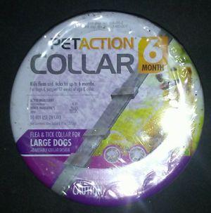 PetAction 6 month Collar for fleas & ticks for Sale in Hemet, CA