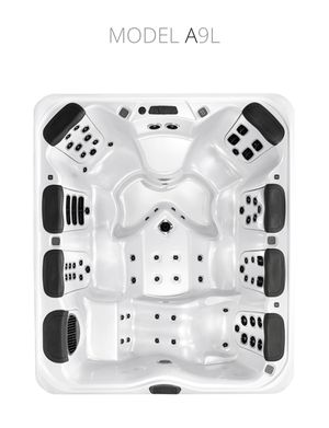 Bull Frog Hot Tub - Customized A-Series - Seats 7 for Sale in Dracut, MA