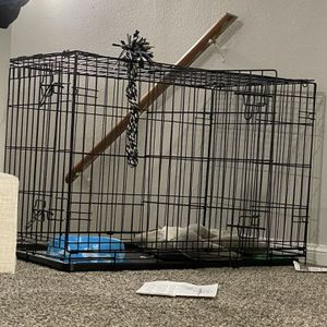 Dog crate & other dog things for Sale in Houston, TX
