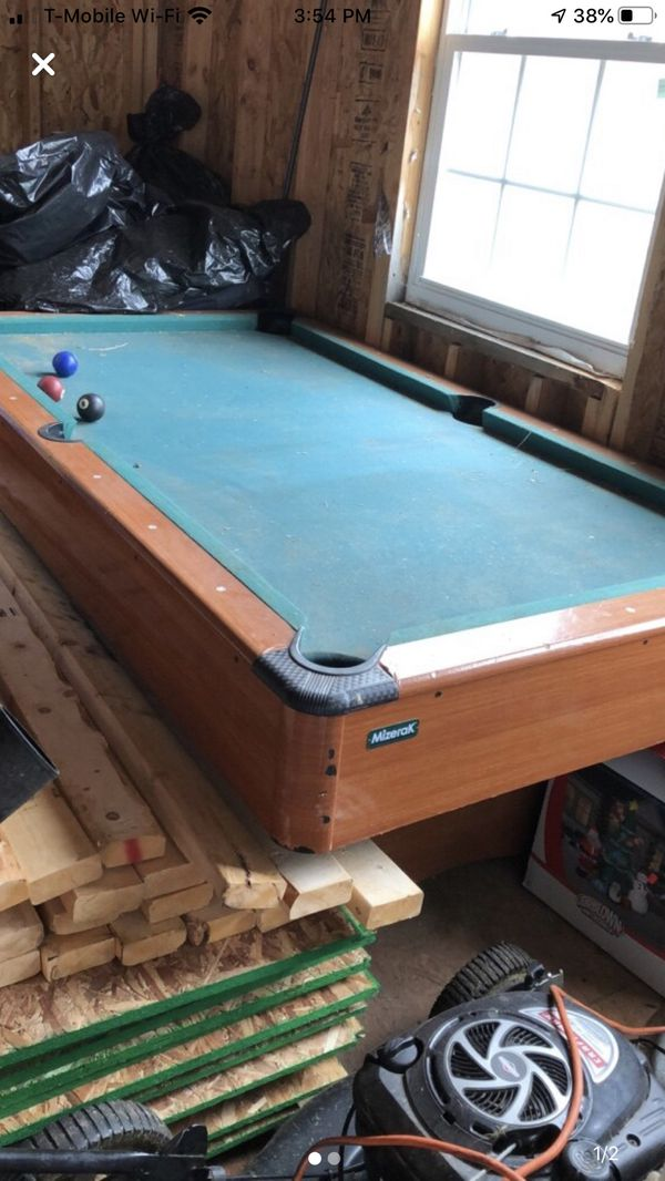 Pool table ( table only )