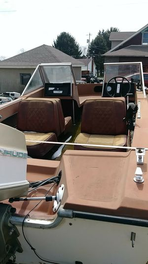 Numerous boats trailers motors and a canoe for Sale in Ellwood City, PA