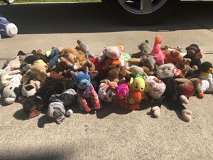 Assorted beanie babies for Sale in Katy, TX