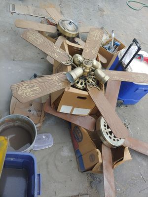 CEILING FANS: built and ready. Compared to Home Depot Prices for Sale in Fresno, CA