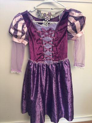 Disney Store Rapunzel dress costume 7/8 for Sale in Des Moines, WA