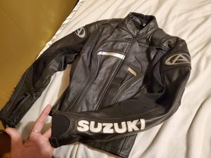 Suzuki AGV sport leather riding jacket for Sale in Cleveland, TN
