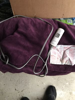 Electric blanket for Sale in Mahwah, NJ