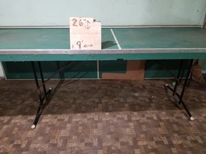 Vintage regulation sz pong table(s), F/Z Shuffleboard w/ ever. for Sale in Lewisburg, PA