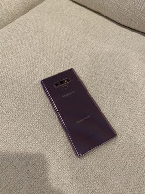 Purple Samsung Galaxy Note 9 128GB unlocked for Sale in Raleigh, NC