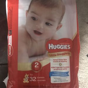 Huggies Diapers Brand New Sealed 2 Qty for Sale in Milpitas, CA