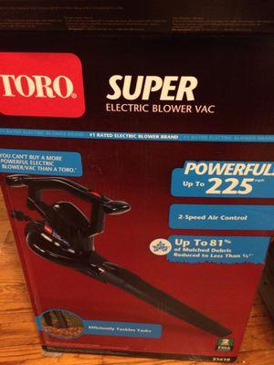Toro blower new for Sale in Rockville, MD